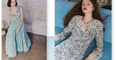 RESOURCES: Antonio Marras, Vilshenko, Luisa Beccaria - Resort 2018 - Paris floral image from Pinterest source unknown.