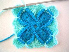"Sarah London Wool Eater crochet pattern. Also called ""Bavarian Crochet"""