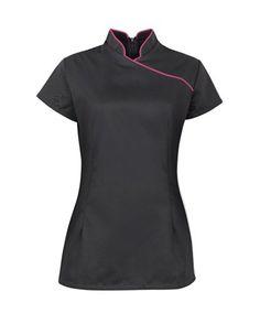 Ladies Women Style SPA Beauty Salon Beautician Tunics Shirts Tops Nail Massage Therapist Uniform, http://www.amazon.co.uk/dp/B00KPU9TAC/ref=cm_sw_r_pi_awdl_luU1ub0VXAT7Y
