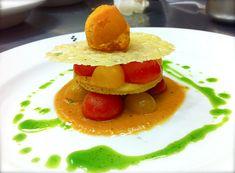 Salad of Petite Summer Tomatoes with Vine-Ripe Tomato Sorbet