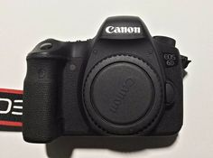 Canon EOS 6D 20.2 MP Digital SLR Camera - Refurbished Used Black Body, Lens+Xtra #Canon