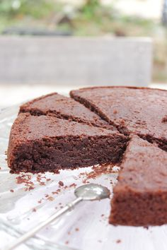 The perfect chocolate Without added sugar or butter - Quick and Easy Recipes Healthy Cake, Vegan Cake, Dessert Healthy, Sweet Recipes, Cake Recipes, Dessert Recipes, No Cook Desserts, Easy Desserts, Dessert Light
