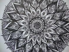 Mandala - make an awesome tattoo Zentangle Patterns, Zentangles, Mandala Tattoo, Mandala Art, Chakra Tattoo, Arm Tats, Elbow Tattoos, Gorgeous Gorgeous, Pen Sketch