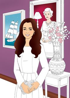 This Princess Kate Coloring Book Will Soothe Your Weary Soul - Late last year, Prince William shared that his wife likes to color — and the books also make the perfect Kate-approved gift. reports @peoplemag Kate Middleton Coloring Book on Sale at Kensington Palace