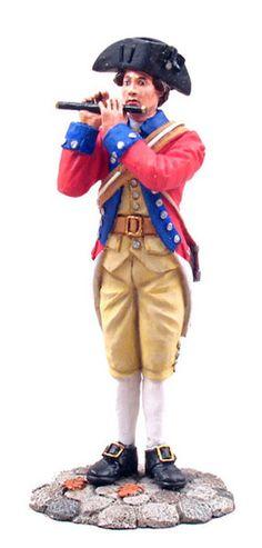 WBritain Soldier 18025 American Revolution Virginia State Garrison Fifer 1770's - Exclusive Item