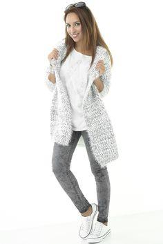 Eros Collection automne/hiver 2015 #eroscollection #ah15 #automne #hiver #style #look #gris #grey #toutdoux #giletxxl #casual #trendy #tendance #top #cool #modele #mode #fashion #belgique