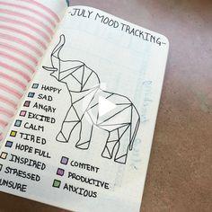 Bullet Journal Tracker, Bullet Journal School, Bullet Journal Mood Tracker Ideas, Bullet Journal Notebook, Mood Mandala, Bullet Journal Aesthetic, Journal Inspiration, Journal Ideas, Journal Pages