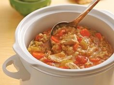 Try this chicken barley stew recipe made with Progresso chicken broth from Betty Crocker. recipes