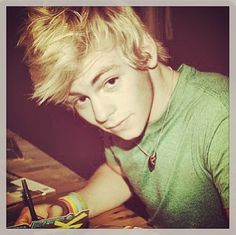 Ross. Thank your mom for doing your hair. It really always turns out hot.
