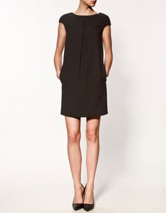 zara | dress with back strap