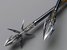 Heretic Composite Bow Arrows, insane amount of force and power. plus they look super cool =)