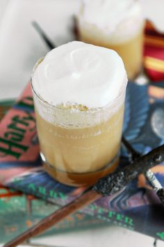 Harry Potter Butterbeer - for Harry's birthday!