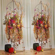 Gregor Lersch, Brown Beige, Floral Design, Wreaths, Fall, Flowers, Floral Decorations, Instagram, Turning