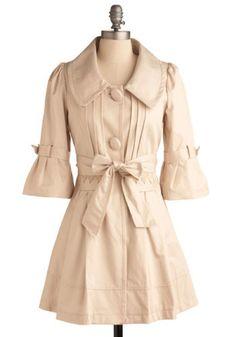 Gumdrop Detective Coat, #ModCloth
