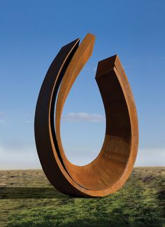 Double Palimpsest, 2012 corten steel 137 3/4 x 96 1/2 x 95 inches Edition of 3 Beverly Pepper