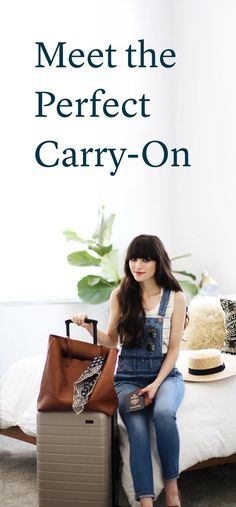 The perfect carry-on bag has arrived. Packing Tips, Travel Packing, Travel Bags, Travel Luggage, Kids Luggage, Luggage Sets, Vacation Places, Places To Travel, Travel Destinations