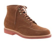 NIB-J-Crew-Kenton-Suede-Pacer-Boots-Size-9-In-Acorn-Fast-Ship