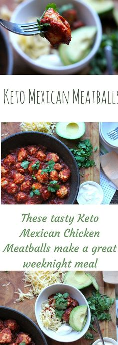 Diet Meal Plans Keto Mexican Meatballs - the perfect weeknight meal and kid friendly! Low Carb Recipes, Diet Recipes, Healthy Recipes, Protein Recipes, Healthy Options, Diet Tips, Salad Recipes, Diet Plan Menu, Diet Meal Plans