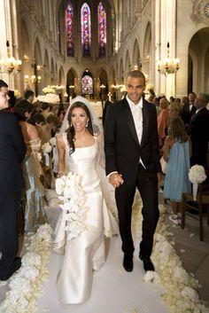 Eva Longoria and Tony Parker 2007 #Wedding