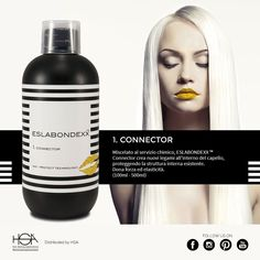 Eslabondexx system: vi presentiamo il prodotto numero 1, Connector #hair #hairstyle #haircolour #haircolor #fashion #style #longhair #curly #straight #black #brown #red #blonde #hairfashion #coolhair #bauty #nouvellecolor #hsacosmetics #silkycolor