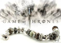 Game of Thrones bracelet featuring Trollbeads