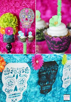 DIY Day of the Dead decorations