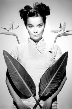 #BJORK. A studio portrait in #1995, the year she released her second solo album, #Post.