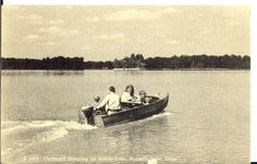 indian lake, ohio water | Indian Lake, Ohio as it looked in the '50s where there were several ...