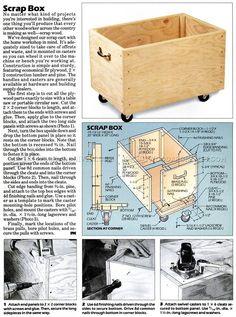 Scrap Box Plans - Workshop Solutions Plans, Tips and Tricks | WoodArchivist.com
