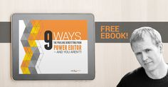Do amazing things for your business with Facebook ads, but with the right tools. This #free #ebook details the 9 reasons you need to use Power Editor.