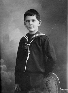 Prince Umberto Nicola Tommaso d'Italie, prince de Naples (1904-1983) futur roi Umbert II, fils du roi Victor Emmanuel III et de la princesse Jelena Petrović-Njegoš de Montenegro