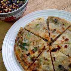 Crispy spring onion pancakes | 25 Traditional Chinese Dishes Everyone Should Learn To Make