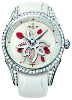 Perrelet Diamond Flower Double Rotor Womens Watch watch releases