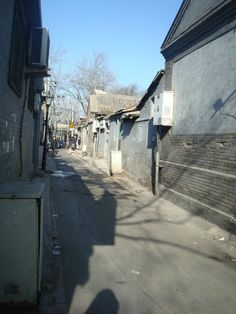 Hutong in a sunny day of December - Photo by Adele Tang
