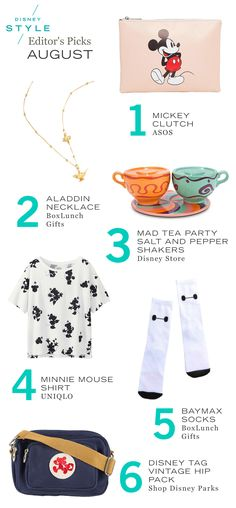 August Disney Style Editor's Guide | Shopping favorites: accessories + home decor | [ http://di.sn/6005B0B1T ]