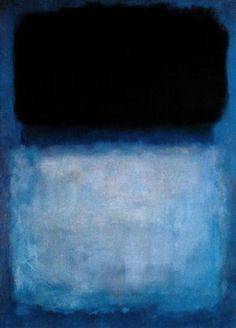 "crashinglybeautiful: ""I don't express myself in my paintings. I express my not-self."" –Mark Rothko, born today, September in 1903 (left us in Painting: Mark Rothko, Green Over Blue, 1956 via: parabola-magazine. Mark Rothko, Rothko Art, Modern Art, Contemporary Art, Franz Kline, Drawn Art, Art Plastique, Art And Architecture, Oeuvre D'art"