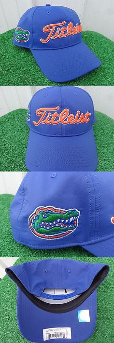 Golf Visors and Hats 158937  Titleist Florida Gators Performance Adjustable  Snap Back Blue Golf Hat bf4b85692f47