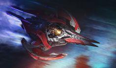 ArtStation - Spaceship, Nikolay Prokopenko