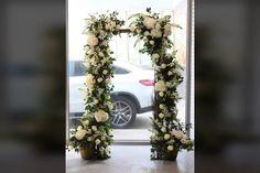 Small Wedding Flower Arch