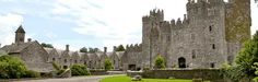 I want to see the castles and manors in Ireland.