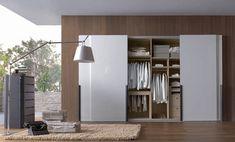 white wardrobe { several sliding-door modern wardrobe pictures for ideas } Sliding Closet Doors, Sliding Wardrobe, Wardrobe Doors, Wardrobe Closet, Built In Wardrobe, Wardrobe Ideas, Armoire Wardrobe, Closet Ideas, Wardrobe Furniture