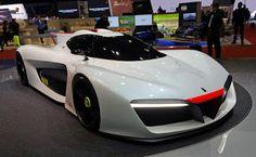 Modern Technology: WORLD'S FIRST HIGH-PERFORMANCE HYDROGEN-POWERED CA...