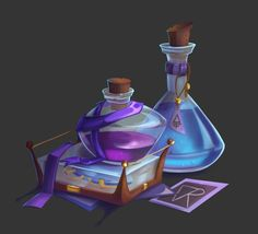 Magic Bottles, Digital