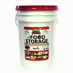 @Overstock - Augason Farms 281 Servings 30 Day Food Storage Emergency All-in-One Pail includes 30-Days of delicious, easy-to-prepare food for one person. It also includes a plastic, self-filtering water bottle, quick-light fuel source and meal planner.http://www.overstock.com/Emergency-Preparedness/30-day-Food-Storage-Emergency-All-in-One-Pail-281-Servings/6573644/product.html?CID=214117 $102.99