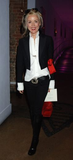 Daphne Guinness in awesome androgyny