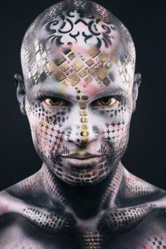 Aaron Knox's work with Graftobian at IMATS Toronto 2012 - with Jason Hewitt