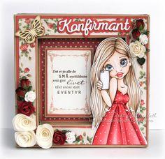 Cardville- Cards by Elizabeth: DT Copic Marker Norge: Rødt utenom jul/Coloring Reds