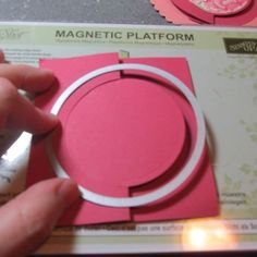 Mini Photo Tutorial: Scalloped Circle Flip Fold Cards (Alternative: mit Spellbinders)
