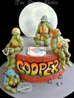 Teenage Mutant Ninja Turtles - Top Cakes - Cake Central