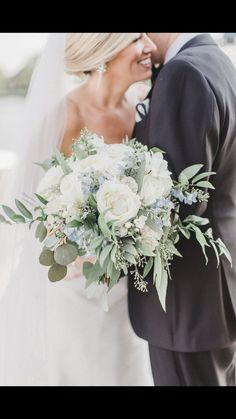 At Darianna Bridal & Tuxedo, we will make sure you find the perfect wedding dress or tuxedo with a pressure-free, fun shopping experience for your special day. Bride Bouquets, Flower Bouquet Wedding, Floral Wedding, Wedding Colors, Bridal Bouquet Blue, White Wedding Bouquets, White Wedding Flowers, Wedding Flower Arrangements, Bridesmaid Bouquet